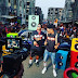 """Efe & Olamide Hit The Streets For """"Warri"""" Video Shoot (BTS Photos)"""