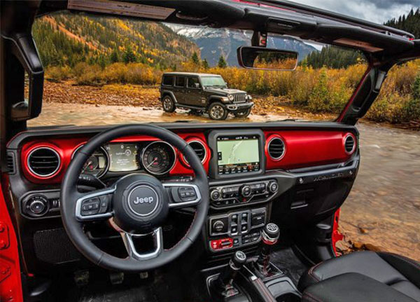 Burlappcar New 2018 Jeep Wrangler Interior