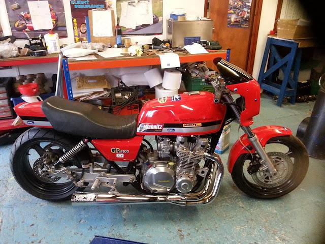 Drag Kawasaki GPZ 1100