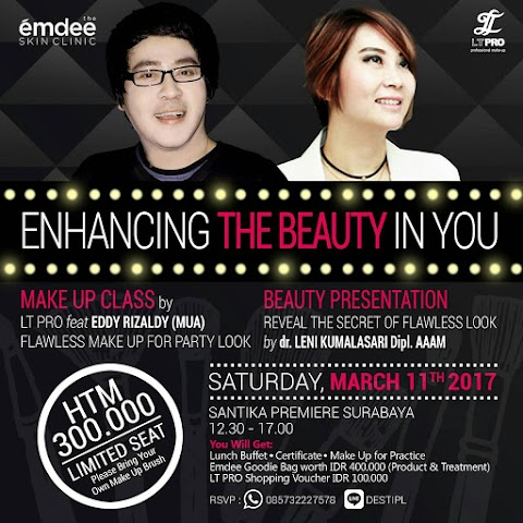 [EVENT REPORT] Enhancing The Beauty in You by Emdee Skin Clinic