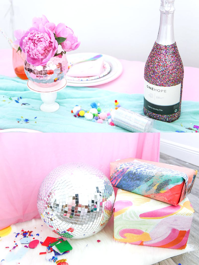 Gems girls night party ideas via BirdsParty.com @birdsparty