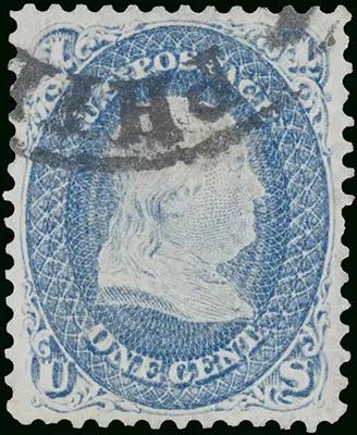 Вторая самая дорогая почтовая марка