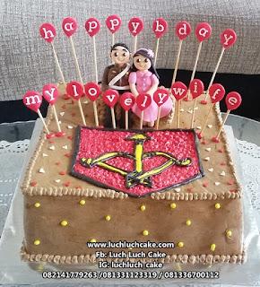 Birthday Cake Polisi Indonesia dan Bhayangkari