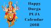 Durga Puja Calendar | 2018 Durga Puja Date