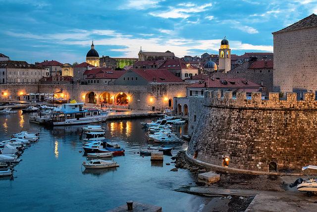 Το Ντουμπρόβνικ (Dubrovnik) Εικόνες