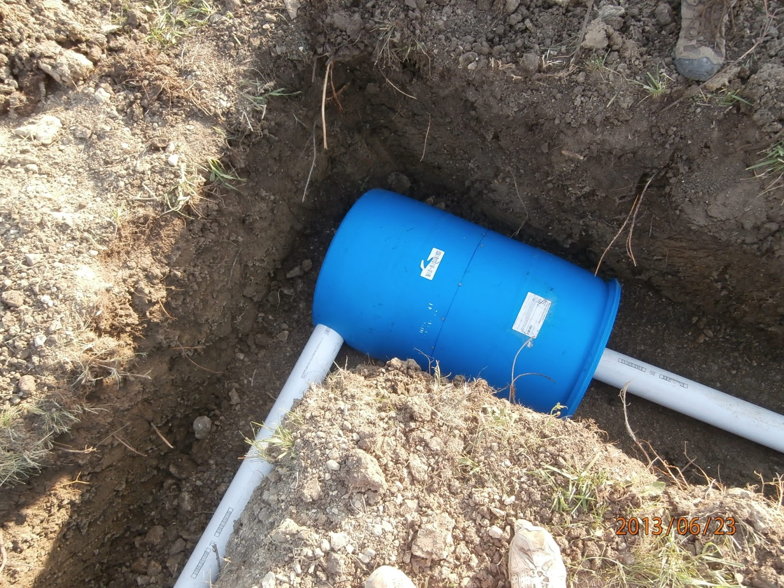 Recycled Homesteading The Gravel Less Septic System We
