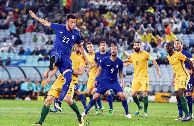 Φιλικό: Αυστραλία - Ελλάδα 1-0