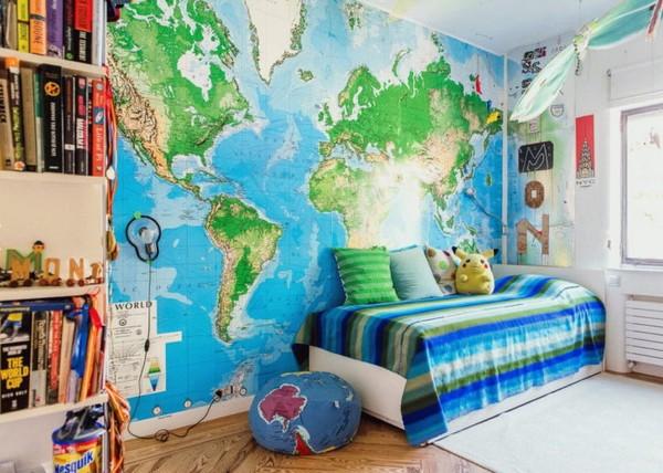 maailmankartalle tapetti vauvavalokuva kartat tapetti lastenhuone tapetti poikavauva tapetti