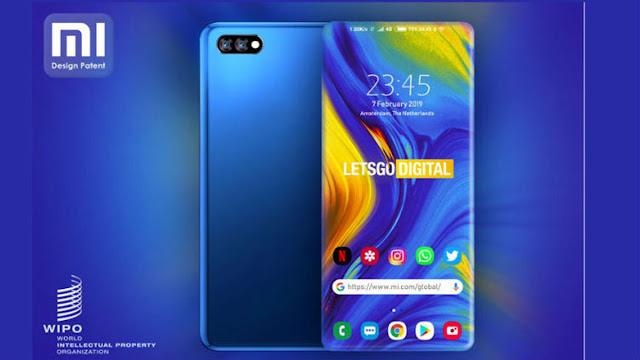 هاتف شاومي Xiaomi الجديد بدون حواف نهائياً