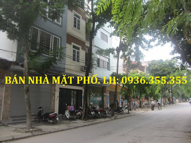 Bán nhà mặt phố Phan Huy Chú