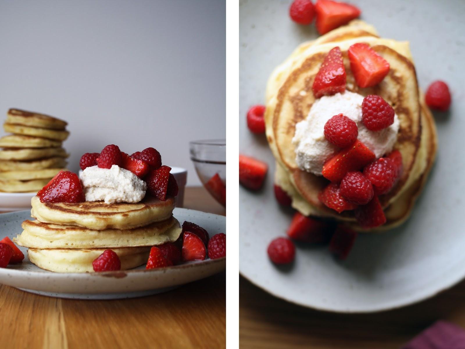 "Dairy-free ""buttermilk"" pancakes | Sevengrams"