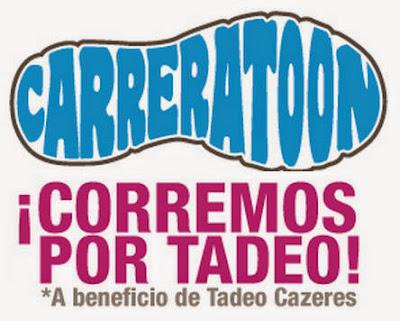 CarreraToon - Corremos por Tadeo (Carrera en parejas con niños, Punta del Este, nov/2014)