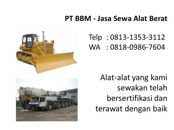 rental excavator pc 75 di bandung dan jakarta
