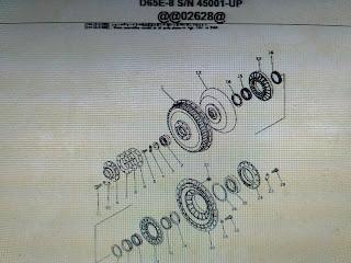 Parts Book Buldozer komatsu D65E-8