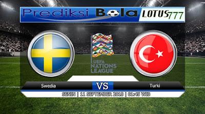 PREDIKSI SWEDEN VS TURKEY 11 SEPTEMBER 2018