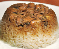 resep-dan-cara-membuat-nasi-tim-ayam-jamur-enak-dan-lezat