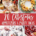 Christmas Appetizers and Party Ideas #christmas #holiday