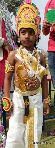 king fancy dress child