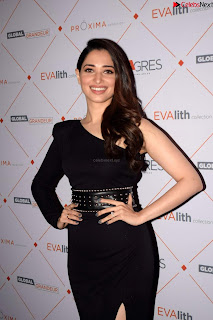 Beautiful Milky white Tamanna Bhatia in Black dress at Qutone New nd Launch ~ .xyz Exclusive 004.jpg