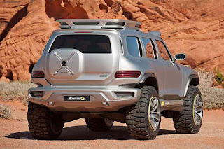 Mercedes-Benz Ener-G-Force Concept G-Wagon