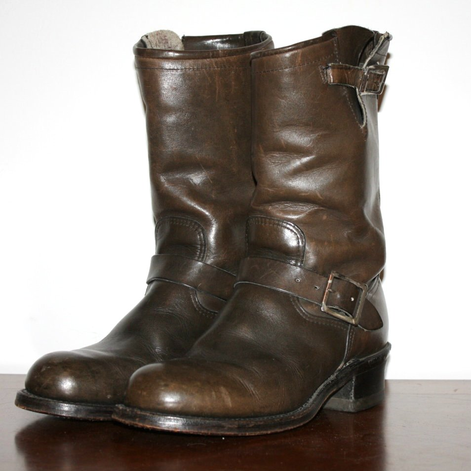 50333b50cc7 Vintage Engineer Boots: 1960'S SEARS ENGINEER BOOTS