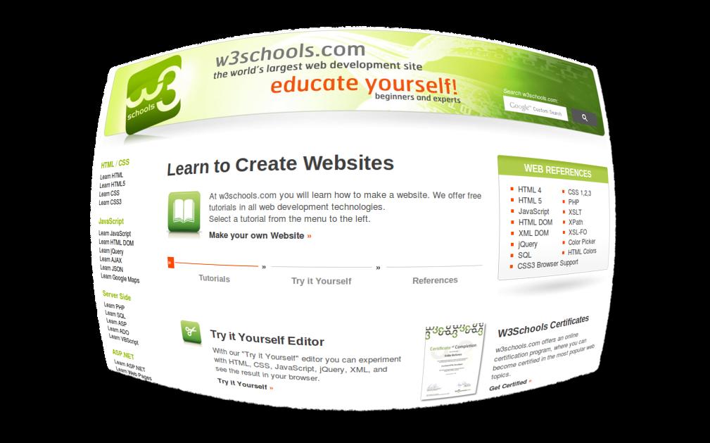 Website Untuk Belajar Coding (PHP, JS, Java, JQ, ASP, dll