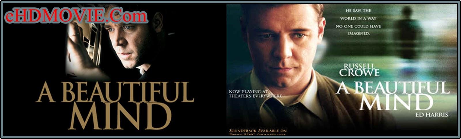 A Beautiful Mind 2001 Full Movie English 720p - 480p ORG BRRip 500MB - 1GB ESubs Free Download