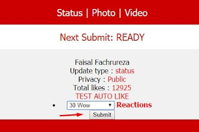 submit auto like