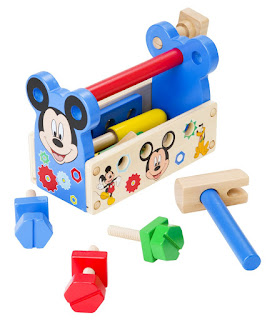 Melissa & Doug Disney Mickey Mouse Clubhouse Wooden Tool Kit
