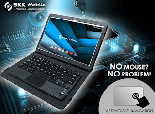 SKK Mobile Announces Trans4m Click, 10-inch Tablet for Php3,999
