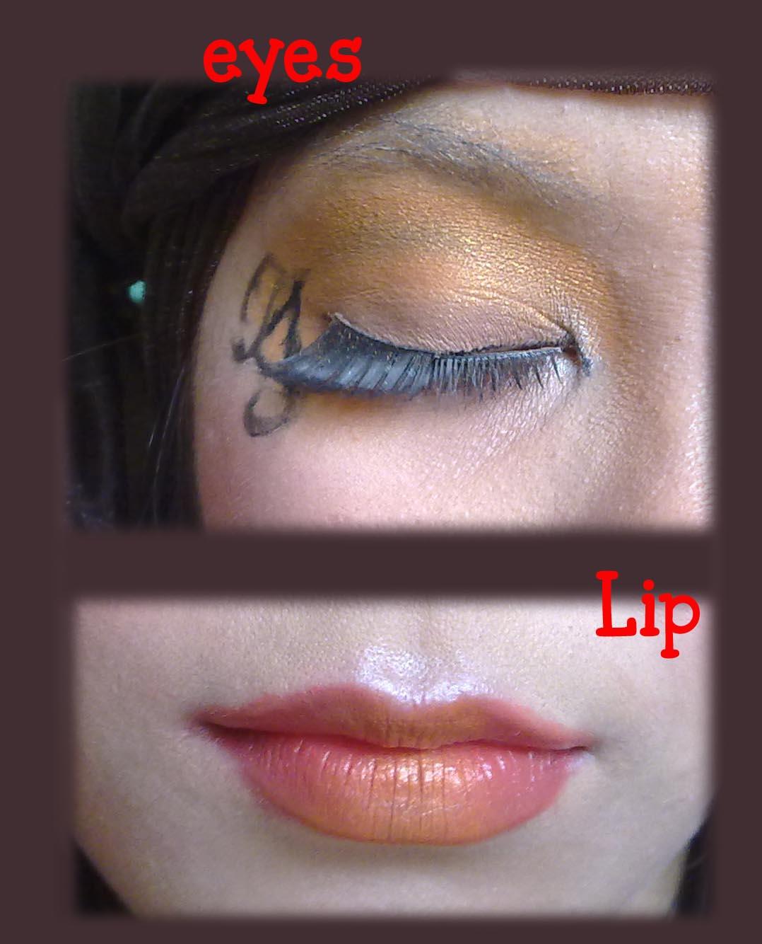 Make Up Chalengge: Orange/Tangerine Make UP | Buleipotan