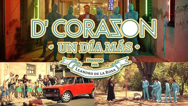 D'Corazón - ¨Un día más¨ - Videoclip - Director: Leandro de la Rosa. Portal Del Vídeo Clip Cubano
