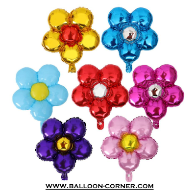 Balon Foil Bentuk Bunga