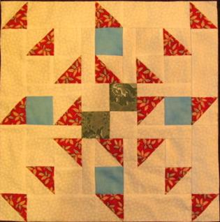 Spinning Pin Wheel Quilt Pattern by The Quilt Ladies