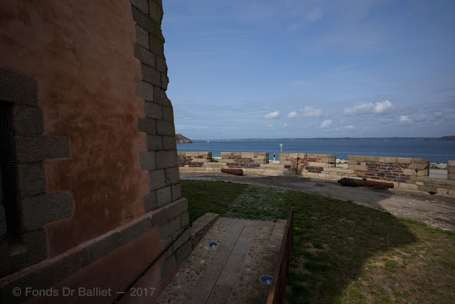 Tour Vauban de Camaret sur Mer— Plate-forme d'artillerie