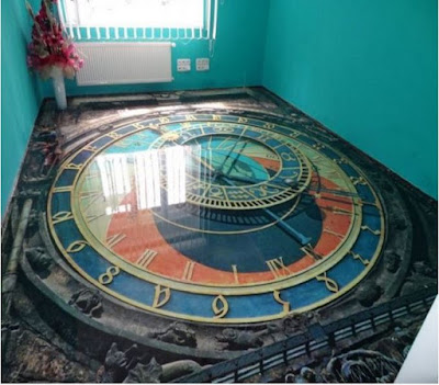 3D floors - living room 3D floor art