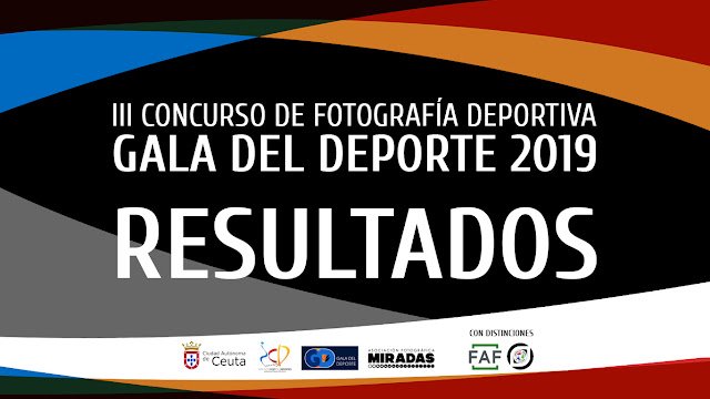 Resultados del III Concurso de Fotografía Deportiva 'Gala del Deporte'