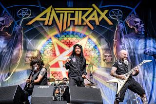 New ANTHRAX upcoming album
