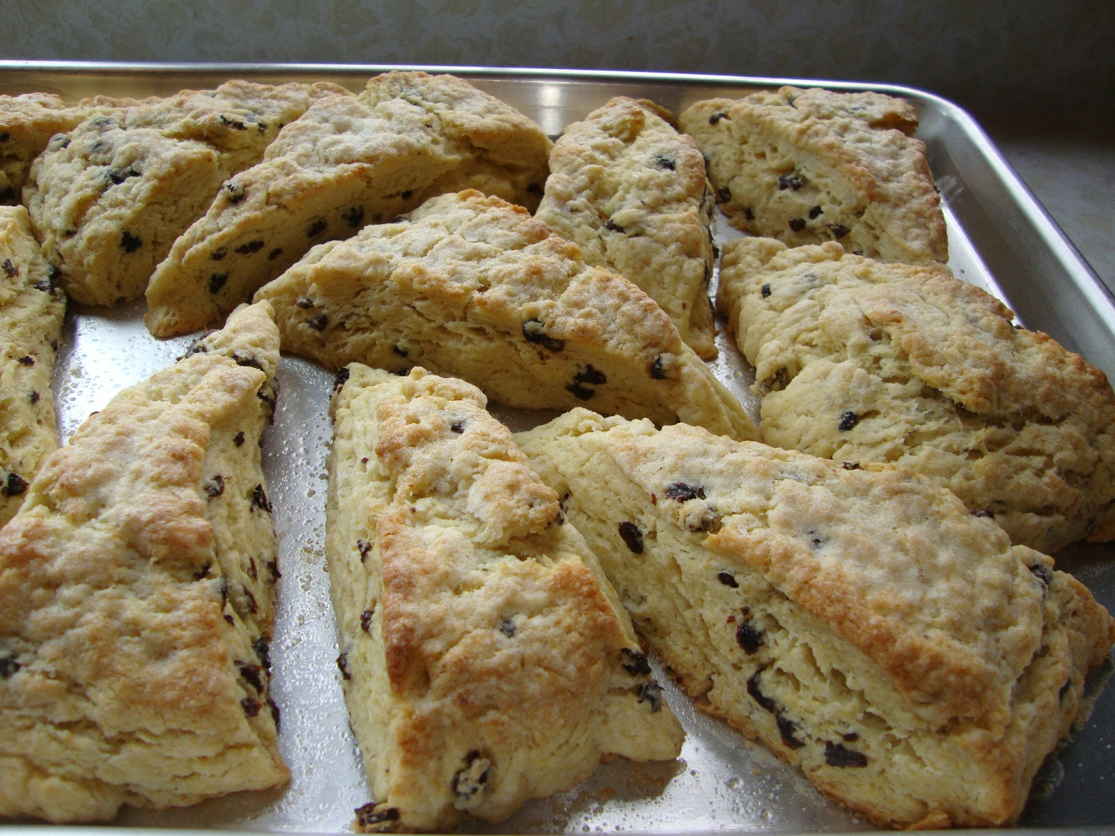 Live from Voorheesville: Buttermilk Scones with Currants