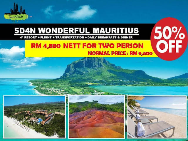 Mauritius isn't too bad either, super destinations with your loved ones