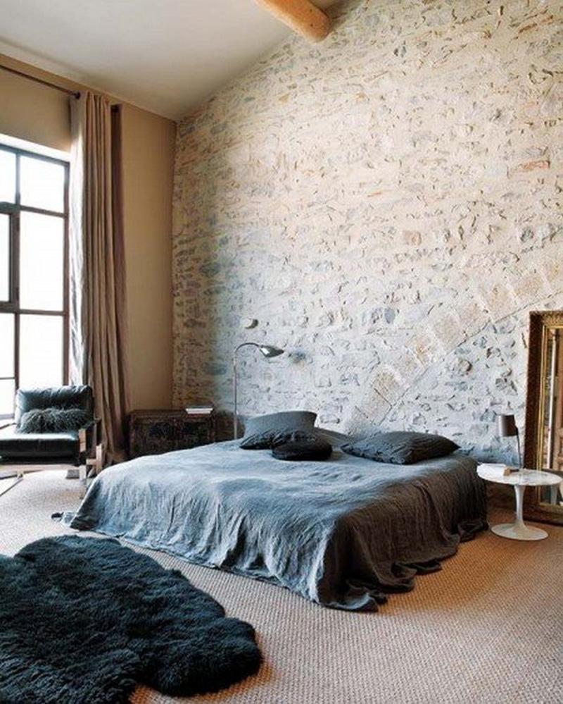 deco chambre interieur conceptions des murs en brique. Black Bedroom Furniture Sets. Home Design Ideas