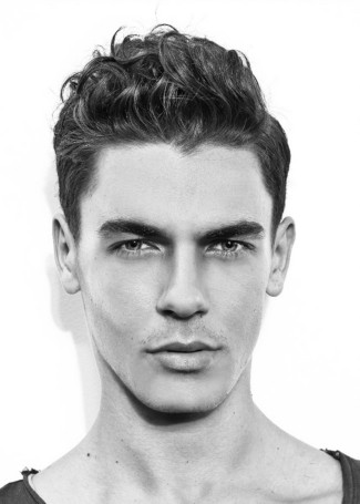 Male Hairstyles For Semi Curly Hair   Hair