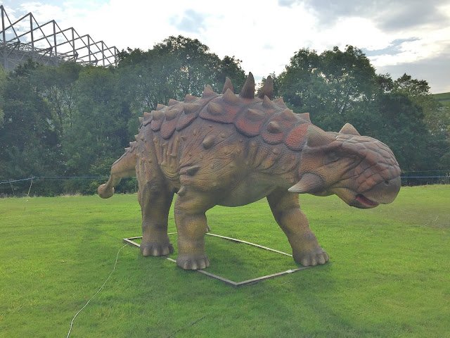 leazers park newcastle jurassic kingdom