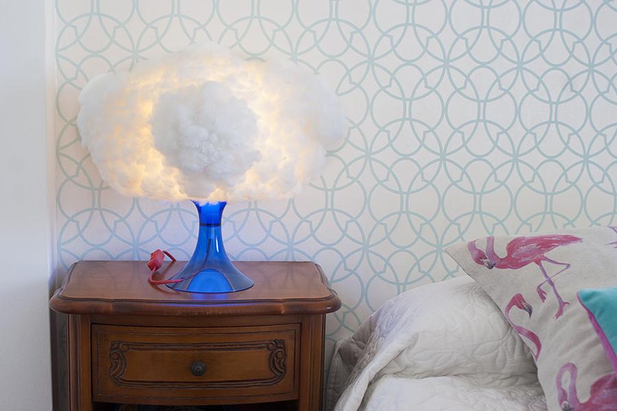 Ikea Hacks Cómo Hacer Una Lámpara Nube Decorar En Familia Def Deco