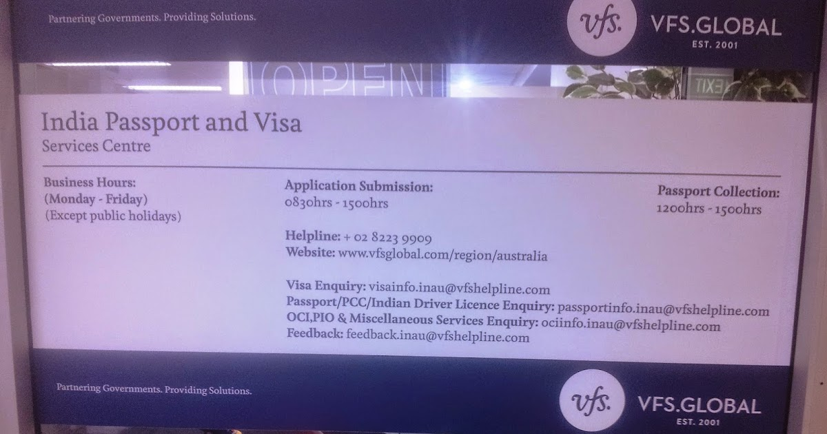 Beaches] Vfs india australia passport
