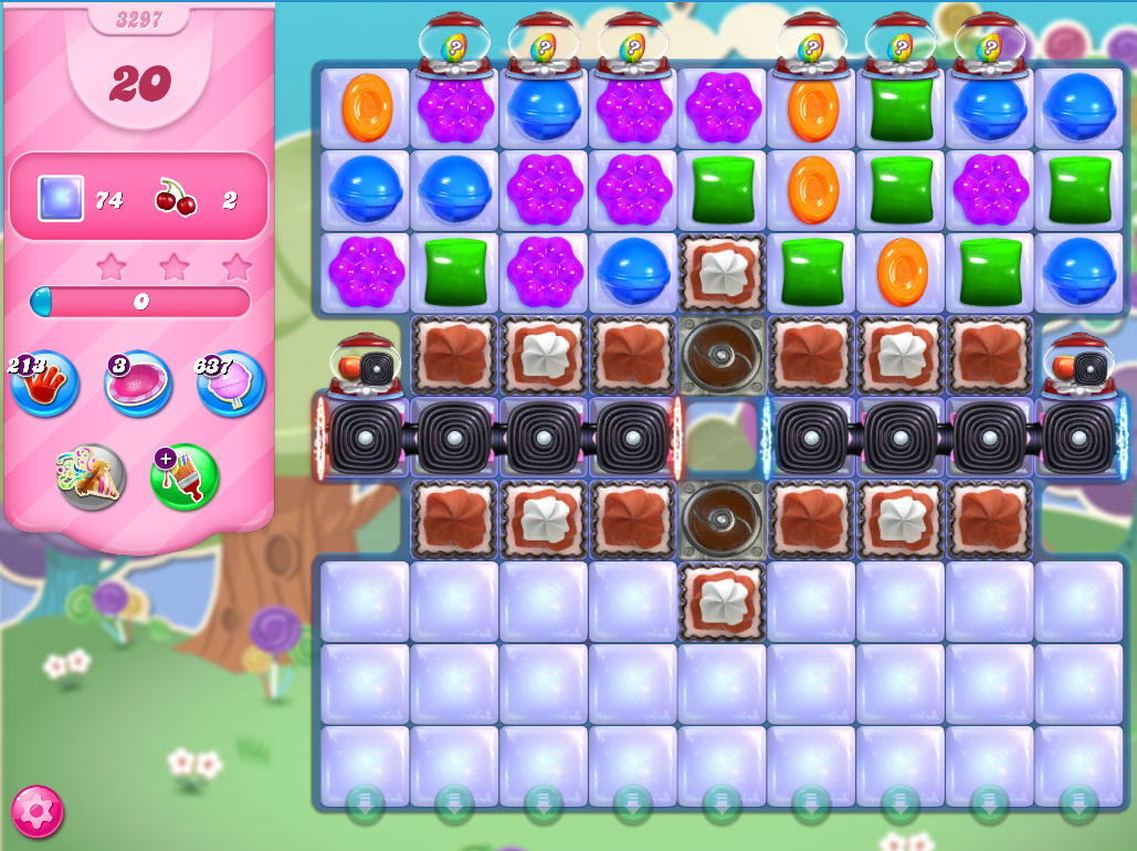 Candy Crush Saga level 3297