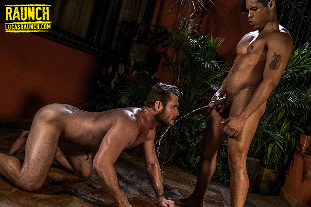 LucasEntertainment - ALEJANDRO CASTILLO HOSES ACE ERA OFF IN PISS