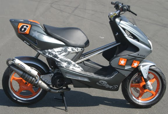 hot moto speed yamaha aerox tuning. Black Bedroom Furniture Sets. Home Design Ideas