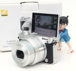 Jual Mirrorless Nikon J5 Wifi - Fullset Bekas