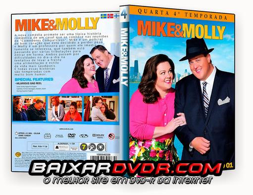 MIKE & MOLLY – 4ª TEMPORADA DISCO 01 (2012) DUAL AUDIO DVD-R OFICIAL